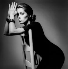 Catherine Deneuve. French Vogue, 1969. Photographed by Jeanloup Sieff.