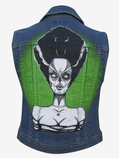 Dead Bride Denim Vest