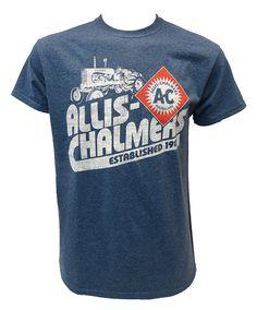 Allis Chalmers Established 1901 Grey T-shirt
