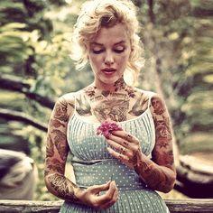 Fotografías De Celebridades Cubiertas De Tatuajes
