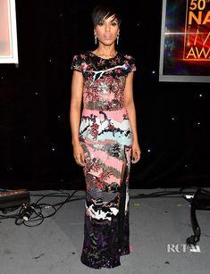 30a1be3e Kerry Washington In Zuhair Murad - 2019 NAACP Image Awards - Red Carpet  Fashion Awards