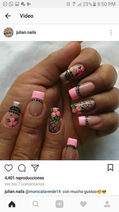 Diy Nail Designs, Nail Colors, My Nails, Eye Makeup, Hair Beauty, Make Up, Nail Art, Pretty Nails, Gorgeous Nails