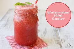 Watermelon mint cooler   www.veggiesdontbite.com   #vegan #plantbased #glutenfree