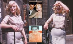 Never-before-seen picturess Marilyn Monroe pregnant by Yves Montand Marilyn Monroe's friend Frieda Hull kept the color pictures she took of pregnant Marilyn private until Frieda's [. Marilyn Monroe Pregnant, Rare Marilyn Monroe, Marilyn Monroe Photos, Stars D'hollywood, Divas, Norma Jeane, Mode Vintage, Before Us, Vintage Hollywood