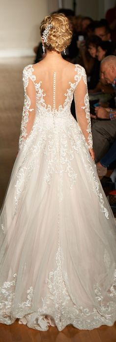 New York Bridal Week - Allure Bridals Spring 2017 Wedding Dress
