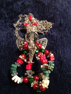Christmas Angel necklace if you would like to order one email me at np2374@gmail.com for prices!  Thanks!