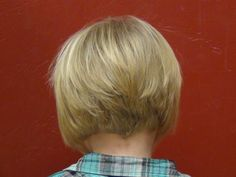 pictures of reverse bob hairstyle on kids - Google Search