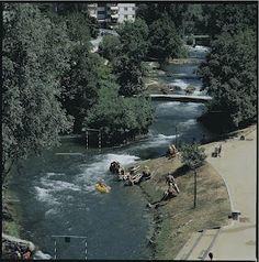 La rivière du Parc des eaux vives