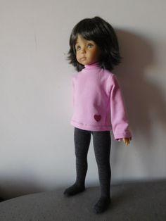 Robe et sous-pull (LD, Mini Maru, Minouche) Sous Pull, Beautiful Dolls, Diana, Sweatshirts, Sweaters, Blog, Style, Wordpress, Chiffon