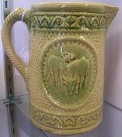 Grazing Cows Stoneware Pitcher... |Pinned from PinTo for iPad|