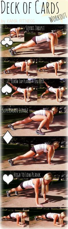 {Full Body} Deck of Cards Workout