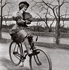 """The women's rights advocate Susan B. Anthony may have said that the bicycle did """"more to emancipate women than anything else in the world."""""""