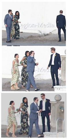 Harry and Meghan enjoyed the festivities with the whole group before breaking off for some private conversation at a small table. Royal couple Prince Harry and his girlfriend Meghan Markle were spotted attending a friend's wedding near Jamaica on March 3, 2017