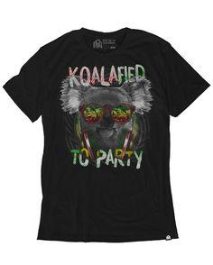 Koalafied to Party Men's Tee