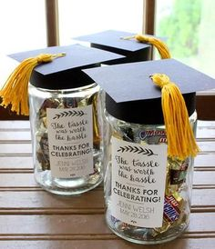 Thank You Graduation Favors; wording for popcorn bags Having a Graduation party and looking for some fun and great ideas for the kids to take home as party favors? We have gathered up some of the best Graduation party favor ideas. Teacher Graduation Party, Graduation Party Centerpieces, Graduation Party Planning, Graduation Party Favors, College Graduation Parties, Graduation Celebration, Graduation Decorations, Grad Parties, Food Centerpieces