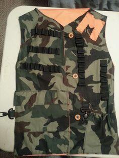 Nerf gun vest!                                                                                                                                                                                 More