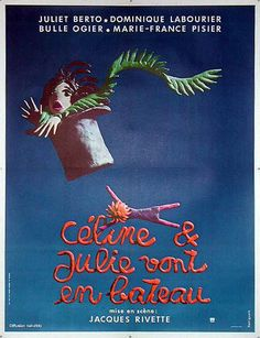 Céline et Julie vont en bateau (Celine and Julie Go Boating) - France (1974) Director: Jacques Rivette *Note: Available in the U.K. on a Region 2 DVD from BFI.