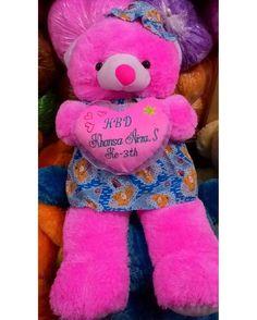 "boneka spesial untuk koleksi pribadi atau kado kesayangan andaBear Baju Topi keterangan:Uk 95cm berat 2kg patokan warna boneka harga: 162000ukirnama 35 rb ya""koleksi segera keburu kehabisan ... order  wa: 085642016496  wa: 081327172699  line : bonekakartun  PIN BB: 5D498C6A ... """"Katalog lengkap buka aja ... fb:  boneka kartun aisyah ... link:  http://ift.tt/2lcRDzE ... jadwal pengiriman : senin rabu jumat ... kurir: jne  j&t pos tiki ... ket: aksesoris motif pita topibunga detil…"