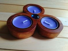 Unique Wooden Candle Holders You Will Love. Candle holders are considered artistic decorative items. From the beginning, this was used to decorate the living room a. Best Candles, Diy Candles, Tea Light Candles, Tea Lights, Christmas Candle Decorations, Old Wine Bottles, Wooden Candle Holders, Palette, Handmade Candles
