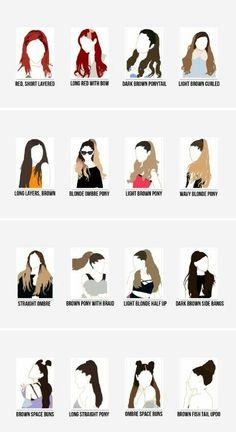 Os anos passaram e os cabelos mudaram...
