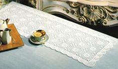 Chemins de table , aux motifs de fleurs ou aux belles arabesques , accompagnés de leurs grilles gratuites , trouvés dans la Galerie Picasa de