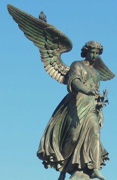 JOHN SONDEMAN, BETHESDA ANGEL IN CENTRAL PARK (2008)