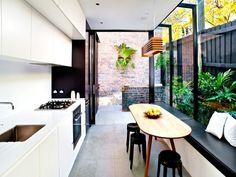 Beautiful glass side return on an Aussie terrace