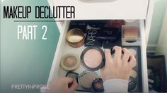 Makeup Collection Declutter Part Powder, Highlighter and Bronzer Highlighter And Bronzer, Most Popular Videos, All Things Beauty, Makeup Collection, Declutter, No Time For Me, Powder, Youtube, Face Powder