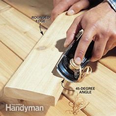 How to Use a Block Plane: Tips for using and sharpening the versatile block plane. http://www.familyhandyman.com/tools/woodworking-tools/how-to-use-a-block-plane/view-all