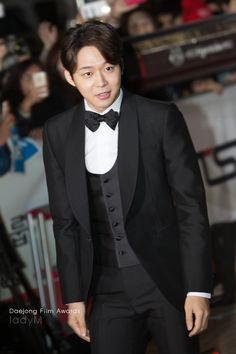 21November2014 [FAN CAMS] Park Yuchun at the 51st Daejong Film Festival