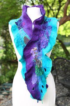 Original Art, Beverly Ash Gilbert, Artist, Author, Teacher, Color Consultant KAC Nunofelt Workshop