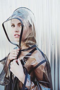 Clear Raincoat, Vinyl Raincoat, Pvc Raincoat, Plastic Raincoat, Black Rain Jacket, Rain Jacket Women, Raincoats For Women, Jackets For Women, Black Jackets