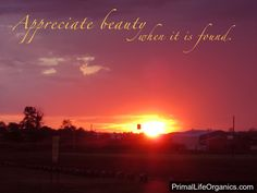 #Beauty #Skincare #Outdoors #Sunset #Natural #Life