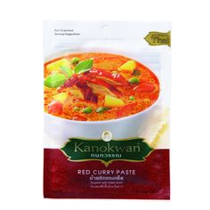 Kanokwan Curry Paste - Red - 1.76 oz - Case of 12