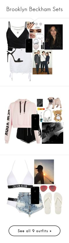 """""""Brooklyn Beckham Sets"""" by haleybean47 ❤ liked on Polyvore featuring Topshop, Giuseppe Zanotti, Disney, Too Faced Cosmetics, NARS Cosmetics, Cartier, River Island, Off-White, Beats by Dr. Dre and Carmex"""