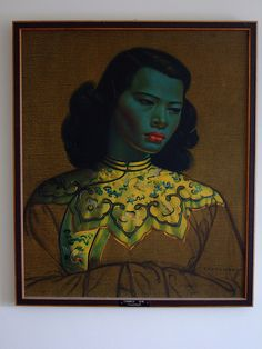 Chinese Girl by Vladimir Tretchikoff  1913-2006 by Moochin Photoman, via Flickr