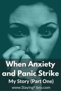 Anxiety is like a stealthy ninja, striking when you least expect it.  When Anxiety and Panic Strike: My story part one