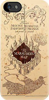 harry potter's marauder's map