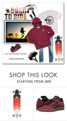 """Born to ride!!!"" by bv-b ❤ liked on Polyvore featuring adidas"