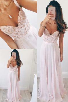 Long Prom Dresses #LongPromDresses, Pink Prom Dresses #PinkPromDresses, Prom Dresses Chiffon #PromDressesChiffon, Prom Dresses 2018 #PromDresses2018