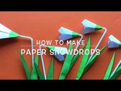 krokotak | SNOWDROPS with straw