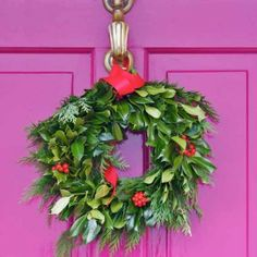 Fabulously Festive Front Doors Welcome the holidays home with these tips for stylish front door decor.