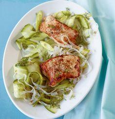 Schnitzel mit Glasnudel-Salat: So schmeckt der Sommer aus Fernost, leicht und wunderbar würzig