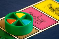 Trivial Pursuit Game Piece - Divided - HMM (2015) Trivial Pursuit, Got Game, Game Pieces, Game Room, Divider, Games, Game Rooms, Gaming, Plays