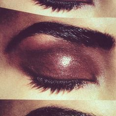 Glossy, luxe lids by  kevyn aucoin