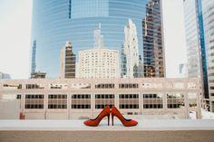 #stylisheventsbylisa #sessionninephotography #downtownphoenix #red #redshoes #bride #wedding #urbanwedding
