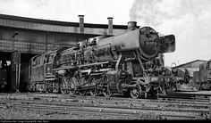 RailPictures.Net Photo: 050 207 Deutsche Bundesbahn Steam 2-10-0 at Dillingen, Germany by J Neu, Berlin