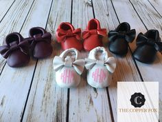 A personal favorite from my Etsy shop https://www.etsy.com/listing/505187117/custom-baby-moccasins-crib-shoes