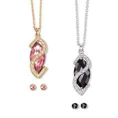 An elegant design of glass stones set in goldtone and silvertone. Pierced studs. Regularly $19.99, buy Avon Jewelry online at http://eseagren.avonrepresentative.com