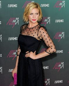 Brittany Snow at the 12th Annual MuchMusic Video Awards in Toronto on June 16, 2013